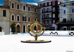 Foligno: monumento centro del mondo